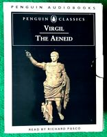 The Aeneid Virgil by Richard Pasco Penguin Audiobooks 6 Audio Cassette & Booklet