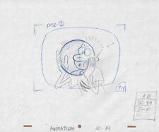 DOUG Original Production Cel Drawing Animation Art Nickelodeon Cell 90s Baloon