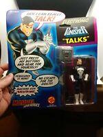 PUNISHER Action Figure - Toy Biz Marvel Electronic Talking MOC 1991 Nice! New!