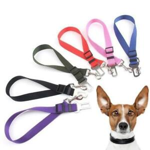 Car Seat Belt - Attaches to Harness - Adjustable & Strong for Dogs & Puppies