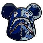 Bearbrick Shark Hat Pin; Bape First Camo, Hip Hop Accessory, Swag, Streetwear