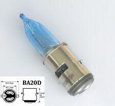 12V BA20D H6 35/35w Motorcycle Halogen LED Headlight Bulb White