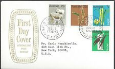 Australia Fdc - Primary Industries Complete Combo Set Of 4 - Cacheted!