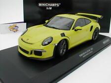 """Minichamps 155066222 # Porsche 911 (991) GT3 RS Bj. 2015 """" licht-grün """" 1:18 NEU"""
