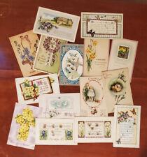 Lot of 15 Vintage Easter postcards - Early 1900's Postmarks