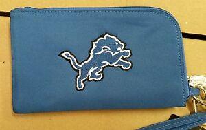 Detroit Lions ID Wallet Wristlet Cell Phone Case Charm 14 Purse