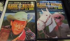 Classic Western TV T.V. Shows (4 DVD Set) 14 Hours OF Clean Movies