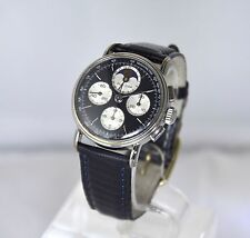 Philip Watch Moonphase Chronograph Lemania 1883 Moonwatch like movement Full Set