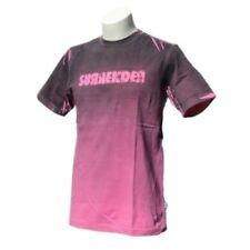 Camisetas de hombre de manga corta rosa de color principal rosa