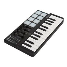Worlde Panda Portable Mini 25-Key USB Keyboard and Drum Pad MIDI Controller V9S3