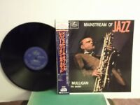 "Gerry Mulligan Sextet,EmArcy,""Mainstream Of Jazz"",Japan,LP,mono,OBI,insert,Mint"