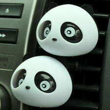 2X Panda Car Perfume Air Freshener Cologne Auto Vehicle Decor Accessories