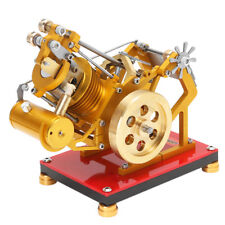 Hochwertig Stirlingmotor Bausatz Unterricht Spielzeug, aus Edelstahl Kupfer