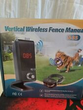Justpet Vertical Wireless Dog Fence Pet Containment System Vibrate/Electric S-35