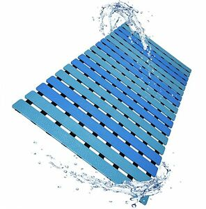 Non Slip Bathtub Mat Mildew and Mold Resistant Shower Floor Mat with Suction Cup