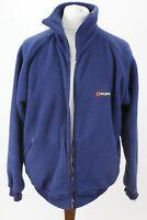 BERGHAUS Polartec Blue Fleece Jacket size L