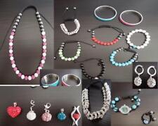 Konvolut Shamballa Schmuck Armbänder Anhänger Collier Uhr Ring Ohrringe