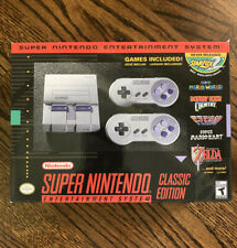 Super Nintendo Entertainment System: Super NES Classic Edition BRAND NEW