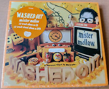 Washed Out Mister Mellow Brand New and Sealed CD + DVD Ernest Greene Get Lost