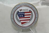 Army Marine Navy Air Force Coast Guard Tractor Supply Challenge Coin
