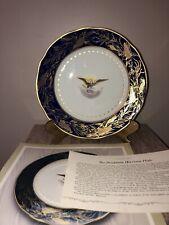 Danbury Mint Pres. Benjamin Harrison White House Bavaria China Collector Plate