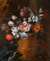 Art Giclee Print Flowers Still Life Oil painting Hd Printed on Canvas P1035