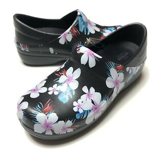 Crocs Neria Pro II Graphic Clog Floral 205385-98F Women's Size 9 New with Tags