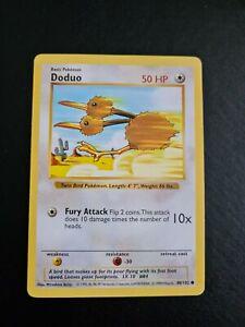 Doduo SHADOWLESS Base Set Pokemon Card 48/102