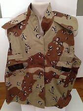 US ARMY PASGT Vest Cover Desert Camouflage Pattern Size Small Medium Military