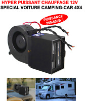 PROMO! HYPER PUISSANT ET COMPACT CHAUFFAGE SOUFFLANT 12V 500W! 4X4 CAMPING-CAR