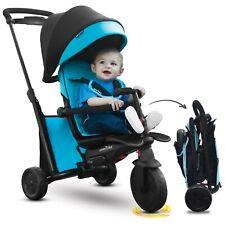 smarTrike smarTfold 500 Enfant 7en1 tricycle évolutif 9-36 bébé smart trike Bleu