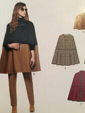 New Look Sewing Pattern 6324 Ladies Misses Cape Two Lengths Size XS-XL New