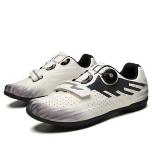Outdoor Professional Cycling Shoes Breathable Self Locking Racing Men Bike Shoes