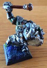 Citadel GW di metallo PRO dipinto in miniatura Caos Black Orc Drummer FUORI CATALOGO RARO
