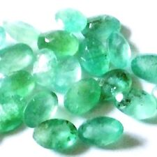 Moderate Oval Loose Emeralds