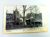 Vintage Postcard 1907 Little Church Around the Corner NY New York Posted