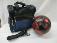 Ebonite Tornado Marbled Bowling Ball 12 lb 2 oz with Bag (AL)
