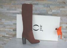 O jour 36 Bottes Chaussures bordeaux Seabiscuit 6048a NEUF