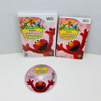 Sesame Street Elmo's A-to-Zoo Adventure The Videogame Nintendo Wii Complete