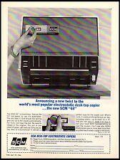 1964 SCM Electrostatic Copier Desk Top vintage print ad