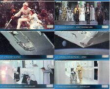 STAR WARS A NEW HOPE WIDEVISION -LP- 1994 TOPPS COMPLETE BASE CARD SET OF 120 LC