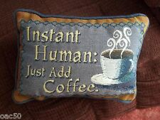 INSTANT HUMAN TAPESTRY PILLOW