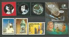 Timbres avec 6 timbres avec 1 timbre