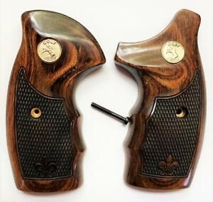 Colt Detective Special Grips/Colt Diamondback, Colt Agent Colt D Frame Walnut