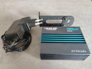 Black Box ServReach KVMCube KVIP1001A rev 1 remote KVMoIP Switch KVM Over IP