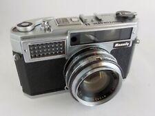 Beauty Lightomatic II 35mm Rangefinder Camera Biokor f1.9 45mm Lens Works AS IS