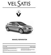 manuel atelier entretien réparation technique Renault Velsatis phase 1 et 2 - Fr