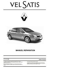 manuel atelier entretien réparation Renault Velsatis phase 1 et 2 - Fr