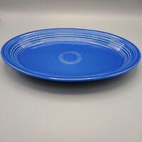 Homer Laughlin Fiesta circa 1996 Cobalt Blue Oval Large China Serving Plate