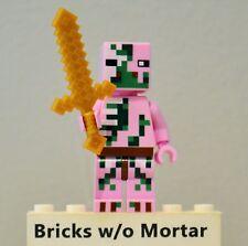 New Genuine LEGO Zombie Pigman Minifig 21122